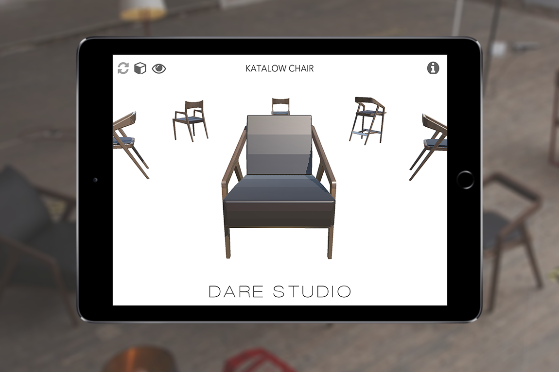 Dare Studio Brochure App